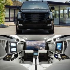 2017 Cadillac Escalade Platinum Sky Captain Mobile Office by @lexanimotorcars