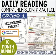 This is an exciting daily reading practice resource that supports:  • Learning about diversity • Growth Mindset skills that build empathy • Daily reading comprehension practice • Differentiated learning