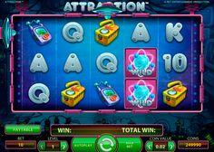 Attraction kolikkopeli on hyvää kolikkopeli netissä joka on NetEnt kehittääjä. Tämä kolikkopeli varmasti sopii jokaisille pelurille. Pelissa on 5 rullat ja 10 voittolinjat, miten antaa jokaisille pelajaalle mahdolisuus voitta isot summat netissä!