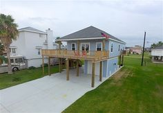 == INTRINSIC #FEATURED LISTING == 4110 Jackson Dr Galveston TX 77554 . HAR MLS # 46870804 (HAR.com/46870804) . Priced to Sell - $350000  About 4110 Jackson Dr Galveston TX 77554 Beautiful new home built for full time / rental property. Top of the  line Finishes. Custom cabinets high grade granite engineered hardwood  flooring Granite in both bath and shower Large walk in showers with  frames glass surround in master Energy Efficient Central AC/Heat walk  in Closet in all rooms for…