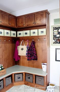 Mudroom Built-in Cubbies