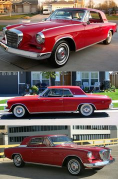 1962 Studebaker GT Hawk Gran Turismo / That's RED, right?