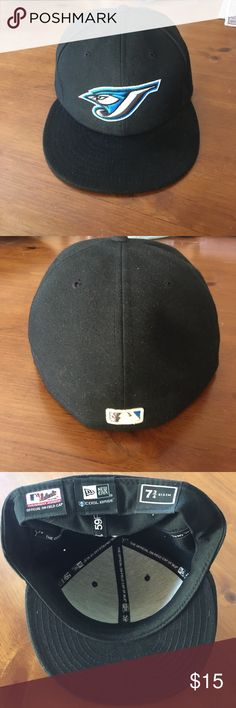 MLB Hat Blue Jays Gently used fitted hat. Make an offer or ask questions.  15% off if you bundle 2 items. New Era Accessories Hats