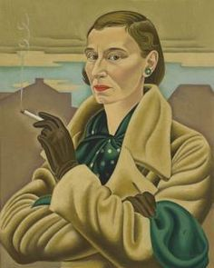 Rita Angus Self-portrait Oil paint on canvas. Collection of Dunedin Public Art Gallery, purchased Reproduced courtesy of the Rita Angus Estate Female Portrait, Portrait Art, Female Art, Painting Portraits, Art Paintings, Woman Painting, Painting & Drawing, Illustrations, Illustration Art