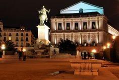 Teatro Real, Madrid, Espana.