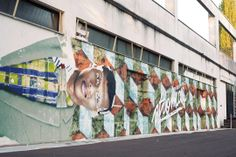 Artist : Sismikazot. Place : Bourges, FRANCE.  #stromae, #streeart, #graffiti, #urban.