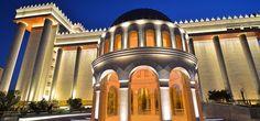 Cúpula do jardim Templo de Salomão, SP, Brasil, inaugurado em 31 de julho de 2014, o templo é a sede da Igreja Universal do Reino de Deus fundada por Edir Macedo em 9 de Julho de 1977.