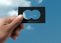 10 cool business cards - this one's for an Ornithologist (love this one).