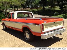caminhonete antiga ford f-150 custom supercab ano 78/79