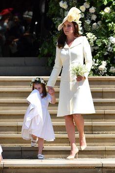 Princess Charlotte and the Duchess of Cambridge- HarpersBAZAAR.com