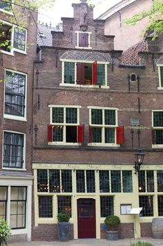 Amsterdam, in the city centre across the street from the JW Marriott