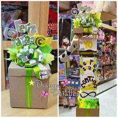 (But in English) Birthday Box, Friend Birthday Gifts, Diy Gift Box, Diy Gifts, Candy Bar Bouquet, Diy And Crafts, Paper Crafts, Creative Gifts, Gift Baskets