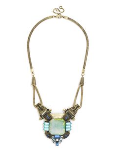 gorgeous statement necklace by Bauble Bar.