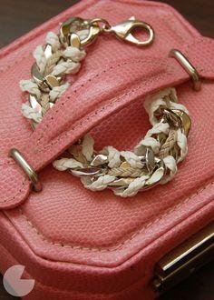 DIY Woven Bracelet