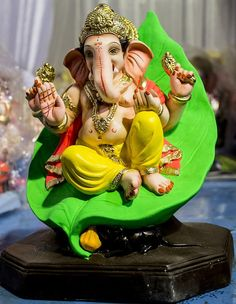 Chandra is described as young and beautiful, two-armed and carrying a club Ganesh Pic, Jai Ganesh, Ganesh Lord, Ganesh Idol, Shree Ganesh, Ganesha Art, Lord Shiva, Ganesh Chaturthi Decoration, Happy Ganesh Chaturthi Images