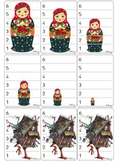 Image bataille de matriochkas Measurement Kindergarten, Russian Culture, 7 Continents, Petite Section, Baba Yaga, Busy Bags, Reggio Emilia, Ms Gs, Fairy Tales