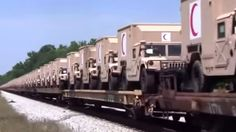 Hundreds of Armored 'Red Crescent' Military Vehicles Spotted In Georgia