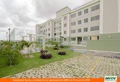 Paisagismo do Barcas. Condomínio fechado de apartamentos localizado em Parnamirim / RN.