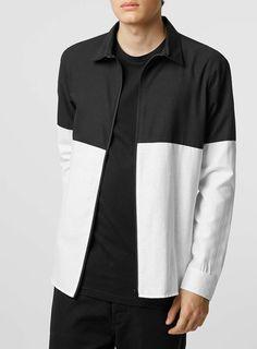 Antioch Black White Shirt*