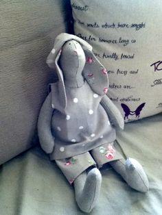 My first Tilda bunny