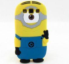 Bleu 3D Moi Moche Et Méchant Minion Étui Coque Housse En Silicone pour Samsung Galaxy S3 i9300: Amazon.fr: High-tech