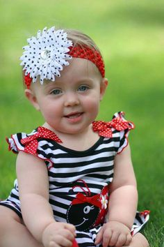 Children / Kids Photography  Ladybug outfit