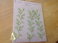 Leaves 50p pack