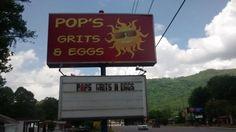Pop's Grits & Eggs, Maggie Valley, NC - Restaurant Pictures - TripAdvisor