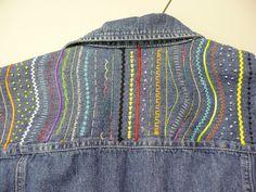 STUPENDOUS STITCHING: Fashionable Jeans – Carol Waugh | Wooden ...