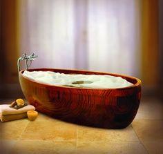 EN MI ESPACIO VITAL: Muebles Recuperados y Decoración Vintage: Bañeras... diferentes { Different bathtubes }