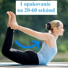 Chcete sa rýchlo zbaviť záhybov na bokoch a chrbte? Vyskúšajte toto! Mne to pomohlo za krátky čas! - Báječné zdravie Yoga Anatomy, Organic Beauty, Yoga Poses, Pilates, Fitbit, Health Fitness, Workout, Strong, Work Outs