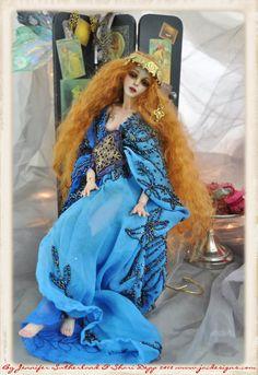 Sutherland Ball Jointed Art doll Opehlia... by SutherlandArt.deviantart.com