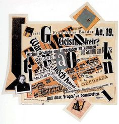 Johannes Baader — Tribute to Gutenberg – 1919