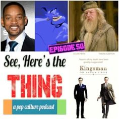 Episode 50: Kingsman, Will Smith & Dying Dumbledore https://www.podomatic.com/podcasts/seeheresthepodcast/episodes/2017-04-30T21_00_00-07_00?utm_campaign=crowdfire&utm_content=crowdfire&utm_medium=social&utm_source=pinterest