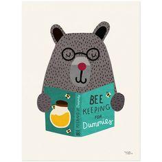 Michelle Carlslund - Poster, Bee Keeping | Bluebox.se