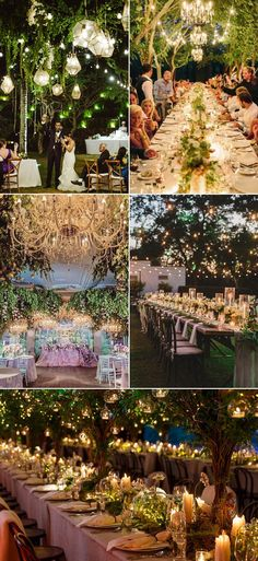 32 Decoration Ideas to Create a Magical Fairy Tale Reception! Enchanted Forest