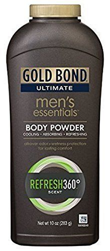 Gold Bond Ultimate Mens Essentials Body Powder 10 oz Pack of 2 >>> Click the image link for more details. #BodyMakeUp