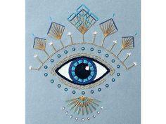 16 ideas for eye drawing evil Evil Eye Art, Eye Drawing, Evil Tattoo, Eye Tattoo, Eye Illustration, Evil Eye Tattoo, Eye Journal, Stitching Art, Embroidery Inspiration