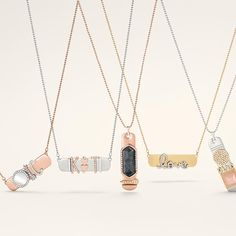 Countless ways to customize these stunning pendants. #newarrivals #KeepCollective Shop these looks at www.keep-collective.com/with/shiloascott