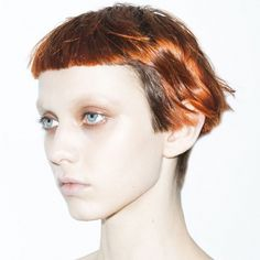 Alexander Wang Model Katherine Moore On Life-Changing Hair Trump Models, Natural Hair Styles, Short Hair Styles, Corte Y Color, Grunge Hair, Shiny Hair, Hair Art, Fall Hair, Hair Designs