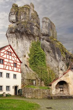 Franconian Switzerland Franconian Switzerland is an upland in Upper Franconia Bavaria Germany an. Beautiful Places In The World, Places Around The World, Travel Around The World, Around The Worlds, Amazing Places, France Travel, Germany Travel, Places To Travel, Places To See