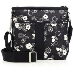 LeSportsac Essential Floral Crossbody Bag ($105) ❤ liked on Polyvore featuring bags, handbags, shoulder bags, apparel & accessories, autumn floral, lesportsac handbags, crossbody purses, floral crossbody, lesportsac purse and crossbody shoulder bags