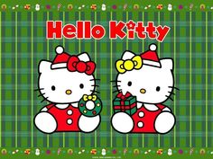 Wallpapers For > Hello Kitty Christmas Wallpapers Iphone
