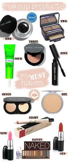 Beauty Must Haves.  Interesting how many BOBBI BROWN products they have!  That's why I love BOBBI!