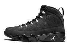 "44032d87478db2 Air Jordan 9 Retro ""Anthracite"" 302370-013 Jordan 9 Retro"