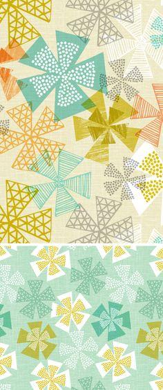 wendy kendall designs – freelance surface pattern designer » geo burst