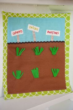 Quiet book page-how cute is that?
