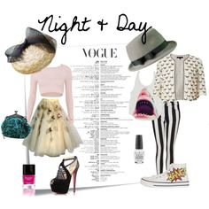 """Night & Day"" by ella-gajewska on Polyvore"