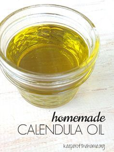 Homemade Calendula Oil