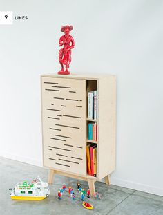 Birch plywood cupboard, joinery details on web page